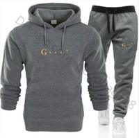 Kadın Set Tutdurma Tasarımcı Eşofman Erkekler Bayan Hoodies + Pantolon Erkek Giyim Kazak Kazak Rahat Tenis Spor Eşofman Ter Suit