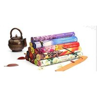 1 Box Fashiom Handmade Darshan Darshan Stick Stick Incenso / Incenso Bastoncini Fragranza multipla Decor per la casa Fra Jlllfy Sinabag