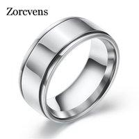 Zorcvens Promotion Acier inoxydable Noir / Or / Argent Couleur Anti-Allergy Couple Sans Couple Jeunes Bijoux Femme Man