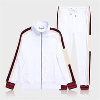 Gucci suit 020 nuevos diseñadores chándales para hombre diseños de las mujeres chándal para parejas lujo de los hombres S Traje suéteres con capucha 201064V