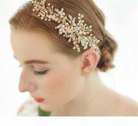 Princess Rhinestone Headband Ribbon Wedding Bridal Crystal Crown Tiara Band Headpiece Jewelry Beads Hair Accessories Party Prom Headdress