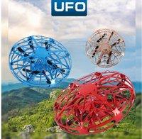 Мини вертолет RC UFO Drone Infraed Рука Sensing самолет Электронная модель Quadcopter flayaball Малого drohne игрушка для детей