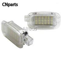 자동 W204 4D 5D W216 W217 W212 4D 5D W221 W169 자동차 도어 환영 빛 화이트 SMD LED 예의 램프 액세서리 1