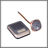Téléphones de porte vidéo 3,0 pouces 300W 3M Cam couleur de couleur avec la cloche LED lumières de la porte électronique de la porte de la porte de la porte de la visionneuse Pésephole M5301