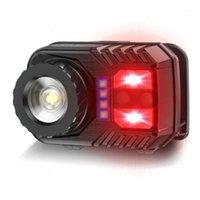 Aranhas de faróis LED Multifunções Ajustável Ajustável Cabeça do Sensor de Zoom para Camping1