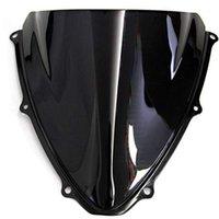 الزجاج الأمامي ل GSXR 600 750 K6 2006 2007 GSXR600 GSXR750 مزدوج فقاعة الزجاج الأمامي الرياح الرياح الرياح الخائن 1
