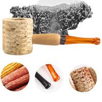 Natural de milho de milho portátil tabaco tubo de fumar design de design inovador titular tubos de alta qualidade tubos de mão tubos artesanais