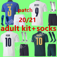 2020 2021 الكبار كيت الرجال إيطاليا لكرة القدم الفانيلة 20 21 منزل بعيدا الثالث بوفون بيرلو زازا دي روسي بونوتشي فيراتي لكرة القدم قميص