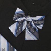 목 넥타이 2021 스타일 일본 소녀 JK 유니폼 나비 넥타이 사랑스러운 한국 학교 액세서리 디자인 매듭 Cravat 숙녀 넥타이