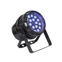 옥외 LED 동위 줌 빛 18x18w 6in1 RGBWA UV 파 주도 (64) 방수 Led 파 IP65 DMX 무대 조명
