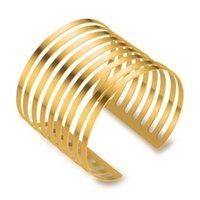 Браслет просто чувствовать Дубай вечеринка золотой цвет металлические браслеты женские украшения африканские эфиопские украшения оптом