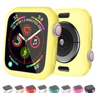 Candy Soft 6 42mm Paraurti 5 38mm Cover Orologio per per 1 Sile 4 Guarda 3 SE Protection 2 40mm Shell Iwatch Case 44mm LJWH