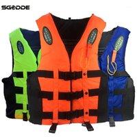 Havuz Aksesuarları SGODDE Yaşam Ceket Ile Düdük Kalınlaşma Deniz Köpüğü S-3XL Sürüklenen Yüzme Su Sporları Aksesuarları1