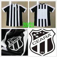 2020 2021 Ceara SC Soccer Jerseys Sobis Carvalho Goncalves Jacare Cleber Oliveira Fabinho Go Lima Custom 20 21 Home Shirt de football noir