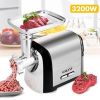 Heavy Duty 220V 3200W Max Powerful Electric Meat Grinder Hom...