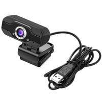 HD Webcam Built-in Dual Mics Smart 1080P Web Camera USB Pro Stream Camera for Desktop Laptops PC Game Cam For OS