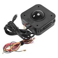 Jogo Arcade LED Trackball Wired Rato Durável Estável Não-deslizamento, máquina iluminada iluminada Conector redondo de alta sensibilidade Acce1