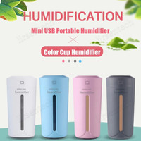 230ml mini mute humidificador de aire ultrasónico aroma esencial difusor de aceite de aromaterapia humidificadores de niebla con luces led para el dormitorio del coche