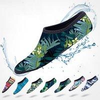 Chaussettes de plage Chaussures Femmes Men's Femmes Plongée Snorkeling amont de natation Anti-glissement anti-dérapant Plongée Plongée Chaussures de natation Protection élastique