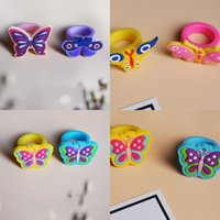 Butterfly Ring Изысканные дети Портативные легкие кольца Горячие продажи в Европе и Америке с более низкой ценой 0 4TZ J1