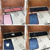 Wild Durable Mats Bathroom Kitchen Two-piece Set Carpets Indoor Non-slip Absorb Water Mute Balcony Bath Designer Mats Free Shipping