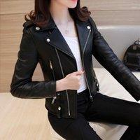 KMETRAM Женская кожаная куртка Streetwea Bomber Весна Куртка Женская одежда 2020 Корейский кожа PU Chaquea Mujer My31351