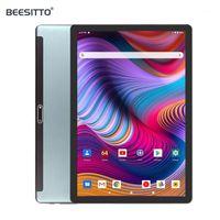 태블릿 PC est 글로벌 버전 10 인치 1280 * 800 IPS 3G WCDMA 전화 안드로이드 9.0 OS GPS 블루투스 32GB ROM 미디어 WIFI 패드 10.11