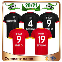 20/21 Bayer 04 Leverkusen Fussball Jersey 2020 Home Diaby Bailey Brandt Havertz Vollund Soccer Hemden Bellarabi Paulinho Football Uniform