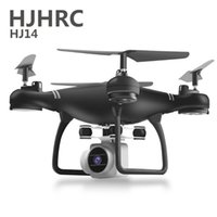 Hjhrc rc helicóptero drone conhou câmera hd wifi fpv selfie drone professionele opvouwbare quadcopter 40 minuten bateria lj201210