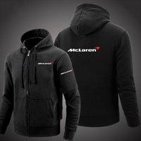 2020 мужской McLaren с длинным рукавом зима осень повседневная капюшона Aston Martin досуга толстовка на молнии мужчины с капюшоном куртка толстовки капюшонов х 1021