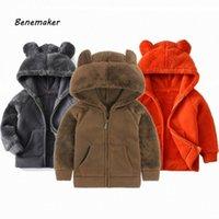 Benemaker 2020 девочек Для мальчиков Зимняя куртка с капюшоном Мальчики руно Верхняя одежда Пальто Одежда утолщаются Дети теплые куртки для детей AP069 0TPh #