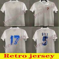 1994 1995 Echte Zaragoza Retro Fussball Jersey 94 95 Poyet Pardeza Nayim Higuera Vintage Classic Football Hemd