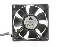 Оригинал для Delta AUB0812VH 8 см 80 мм 8025 80 * 80 * 25 мм 12 В 0,41a 4-контактный 4-контактный PWM Управляющий вентилятор Tempreeture