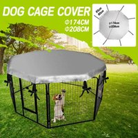 Dog Crate Cover For Pet Dog Playpen Tent Crate Room Puppy Cat Cage Sunscreen Rainproof Prevent Escape