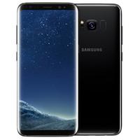 Оригинальный Samsung Galaxy S8 отремонтированный G950F G950U 5,8 дюйма Octa Core 4GB RAM 64GB ROM 4G LTE Android Smart Phone Free DHL доставка 1 шт.