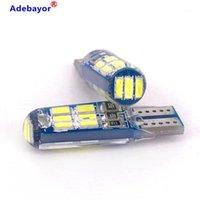 Notlicht 10 teile / los T10 LED-Strobe Hohe Qualität W5W 15SMD 15 4014 SMD Auto Glühbirnen Großhandel 1