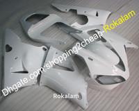 Para YAMAHA YZF1000 R1 2000 2001 YZF 1000 00 01 Todo el kit de posventa de carenado de motocicleta blanca (moldeo por inyección)