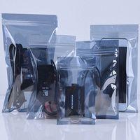 Оптовая 100шт / серия Anti-Static Экранирование Ziplock сумка ESD Антистатический инструмент пакет сумка Пластиковый водонепроницаемый самоклеющимися мешок