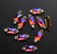 Nails Decorations Piedras Monedones Decoraciones de encanto 3D Accessioires Rhinestones Nail Diamonds Gold 10pcs Art Jewelry Strass Strass Sqcpr