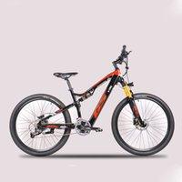 27,5-дюймовых Электротележки мягкого хвоста горного велосипед передний и задние двойные амортизаторы 4 скрытого Ebike литиевой батареи