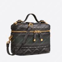 2021 Handbag Womens Handbags Viagem Vanity Case Crossbody Bolsa com D Luxurys Designers Bags Bolsas De Ombro Bolsas Makeup Case P21012101L
