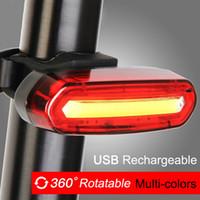 120 Lumens LED велосипед хвостовой свет USB аккумуляторные мощные велосипедные фонари фонари аксессуары