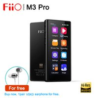 Fiio Pro Full Touchscreen Verlustloser DSD HIFI Portable Music Player, Unterstützung USB DAC, HD-Aufnahme, E-Book, eingebauter Rechner LJ201016