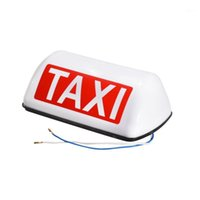 12V DC i Roof Waterproof Top Sign Magnetic imeter Cab Lamp Light Signal Lamp Roof Top Sign Light TAXI Taxi Suction Magnet1