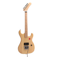 Kits de guitarra eléctrica DIY Canadá Maple Banana Headstock Floydrose Bridge Guitarra inacabada
