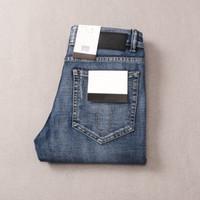 Novo Designer Mens Jeans Luxo Primavera Verão Slim-Leg Jeans Skinny Fit Denim Masculino Designer Jeans Qualidade Top Quality W28-W38