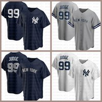 Nouvelle Custom York Baseball Jersey 99 Aaron Juge 2 Derek Jeter 45 Gerrit Cole 26 DJ Lemahieu 25 Gleysber Torres 23 Don Mattingly Jaune
