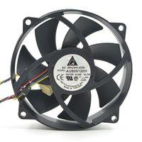 델타 AUB0912HH 12V 0.40A 9025 9CM CPU 4 선식 PWM 온도 제어 냉각 팬