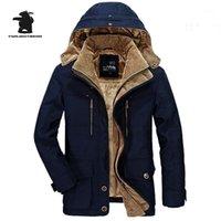 Dessinger Herren Parkas Neue Mode Hohe Qualität Fleece Verdicken Lässige Winterjacke Männer Warme Mantel Plus Größe 6XL Outwear CF0291