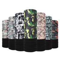 Camo Scarf Bandana Face Cover Custom Cycling Neck Warmer Fac...